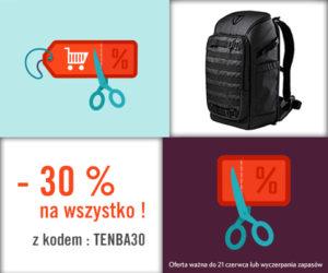 Promocja TENBA 30%