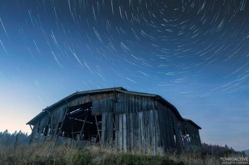 Star trails szopa Jasiomka